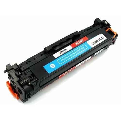 Dragon Zgodny z cc531a toner do hp color laserjet cp2025dn cm2320nf / 2,8k niebieski nowy dd-print