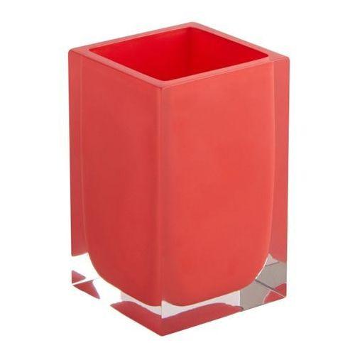 Kubek łazienkowy capraia czerwony marki Cooke&lewis