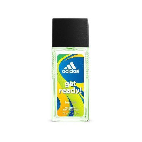 Adidas  get ready for him dezodorant w szkle 75ml (3607342734470)
