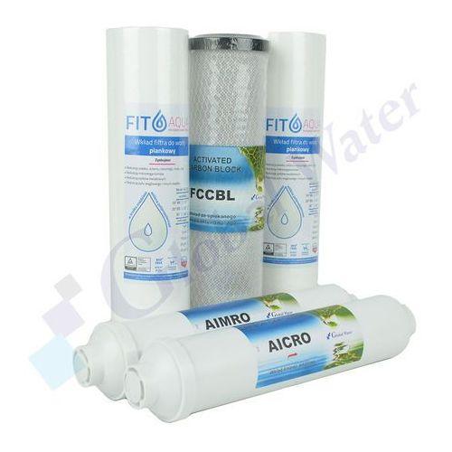 Komplet wkładów z mineralizatorem do ro6, ro7, redline marki Global water