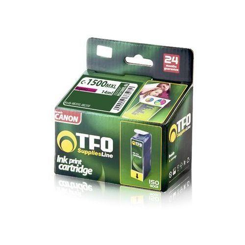 Tusz TFO 1500XL C-1500MXL (PGI1500XL-M) 14ml do Canon Maxify MB2050, Maxify MB2350, kolor czerwony