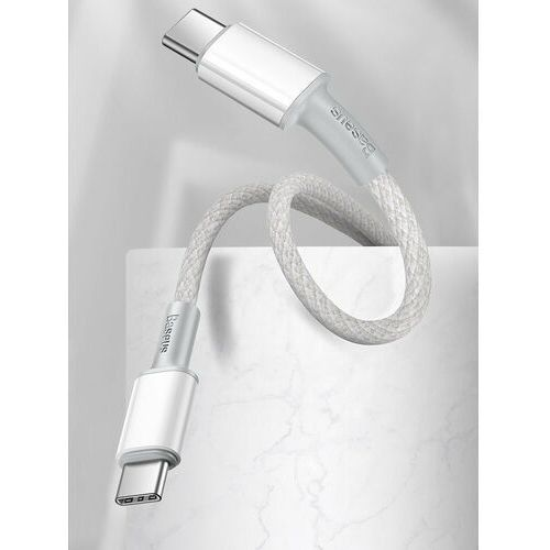 Baseus High Density Braided   Kabel Type-C Type-C 100W Power Delivery Quick Charge 3.0 Huawei SCP 5A (6953156232020)