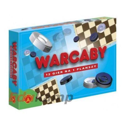 Warcaby 12 gier na planszy marki Alexander