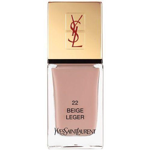 Yves saint laurent La laque couture nail laquer lakier do paznokci 22 beige leger 10ml