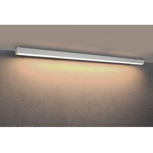 Sollux lighting Plafon pinne 1450 biała, 3000k, 48w