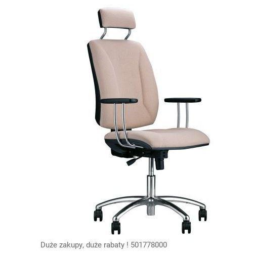 Krzesło obrotowe quatro hru gtp25i steel04 chrome z mechanizmem active-1 marki Nowy styl