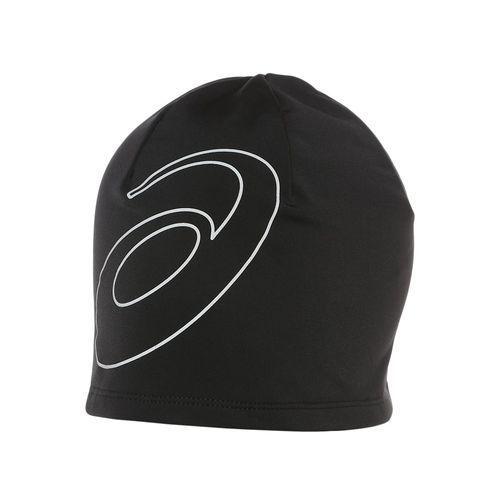 asics Logo Nakrycie głowy czarny Czapki, daszki do biegania (8718837016645)