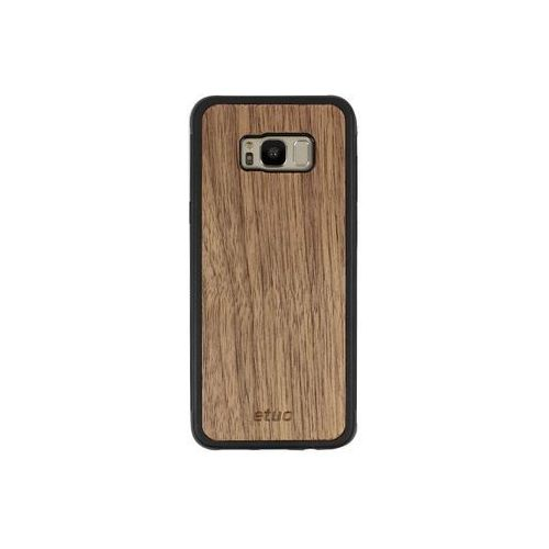 Samsung Galaxy S8 Plus - etui na telefon Wood Case - orzech amerykański, ETSM490WOOD00O000