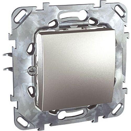 Schneider unica top przycisk 1-biegunowy aluminium mgu50.206.30z