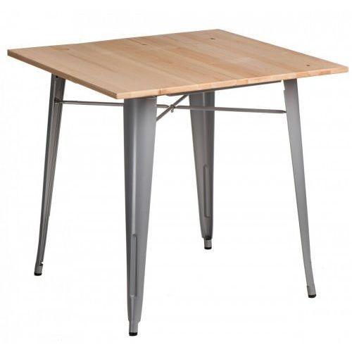 Stół paris wood szary sosna naturalna marki D2.design