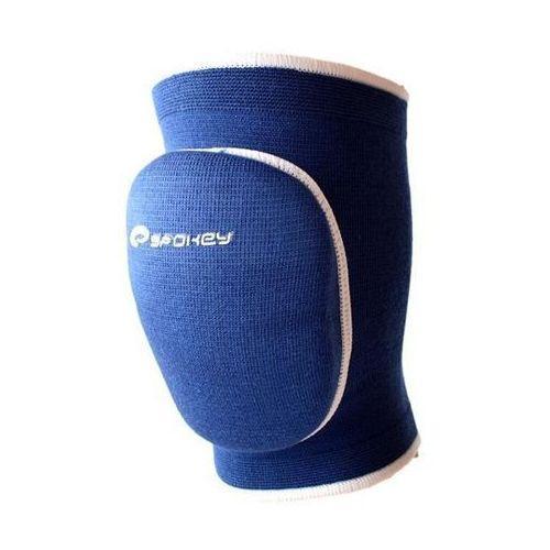 Ochraniacze siatkarskie na kolana nakolanniki  mellow - niebieskie - niebieski marki Spokey