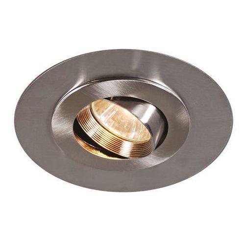 Qazqa Oprawa do wbudowania easy stal z extra dużym pierścieniem z stali nierdzewnej
