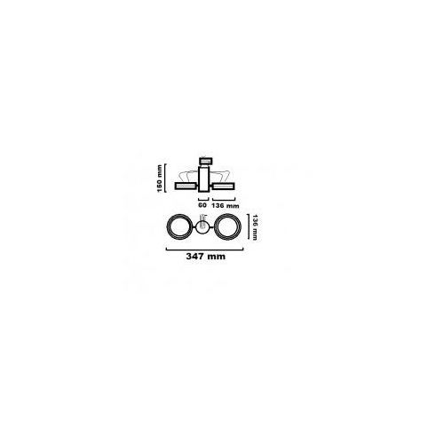OPTIQUE A L21 SP3 W TRIAC 17.5112.D66. OPRAWA DO SZYNOPRZEWODU LED 2700K CHORS, 271 / 17.5112.D66.