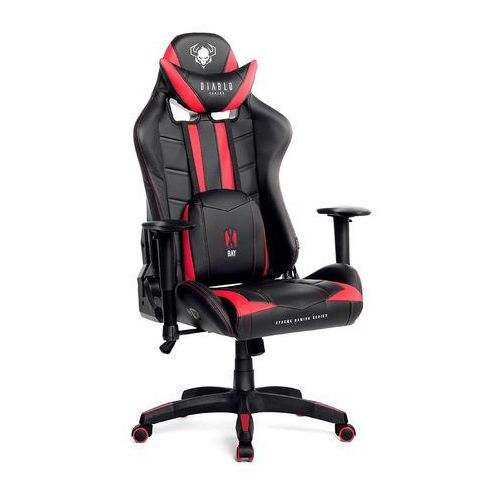 Fotel dla gracza x-ray czarno-czerwony rozmiar l marki Diablo chairs