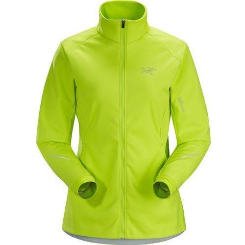 trino kurtka do biegania kobiety żółty m 2018 kurtki do biegania marki Arc'teryx