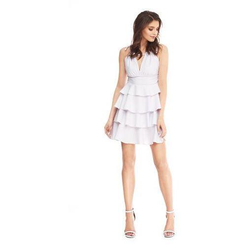 Sukienka Faith w kolorze białym, kolor biały