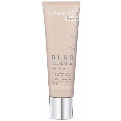 wygładzający podkład blur 1.5 fair beige 30ml - 1.5 fair beige marki Lumene
