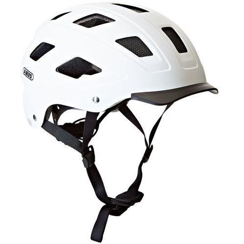 hyban kask rowerowy dla dorosłych, biały marki Abus