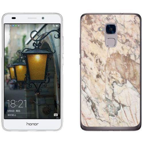 Huawei Honor 7 Lite - etui na telefon - Kolekcja marmur - marble beż - H19 - Marble beż, kolor beżowy
