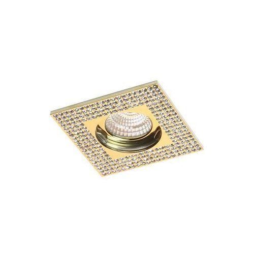 Luxera Oczko halogenowe 1x50w gu10 złoty 71079