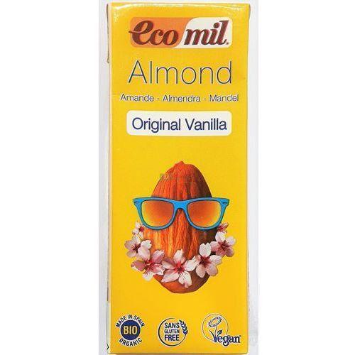 Napój, Mleko Migdałowe o Smaku Waniliowym BIO 200 ml EcoMil, 8428532192239