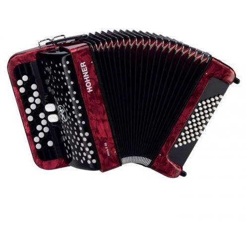 nova ii 48 akordeon guzikowy (czerwony) marki Hohner