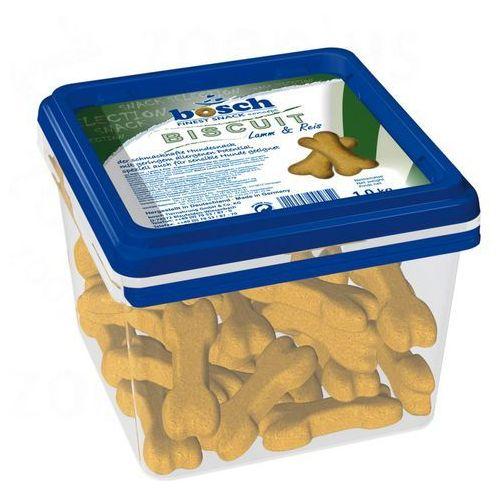 Bosch finest snack concept Bosch biscuit jagnięcina & ryż, ciasteczka dla psa - 1 kg