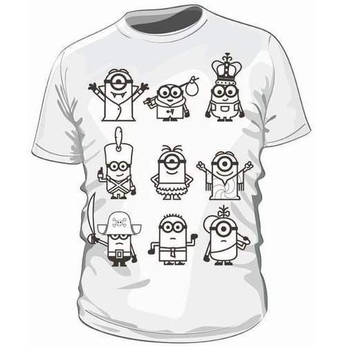 Minionki 2 koszulka do kolorowania 5-6 lat (5902311901043)