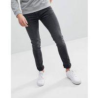 Weekday form trotter black cut super skinny jeans - black