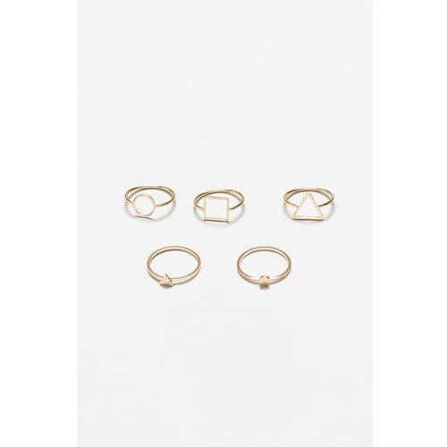 - pierścionki venecia (5-pack) marki Mango