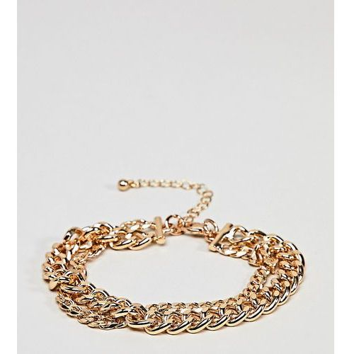 DesignB Gold Chain Bracelet Exclusive To ASOS - Gold