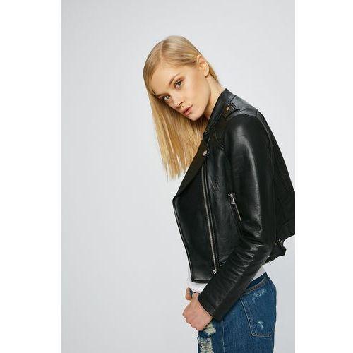74bd8e3fde9ab Kurtki damskie · Guess jeans - kurtka skórzana