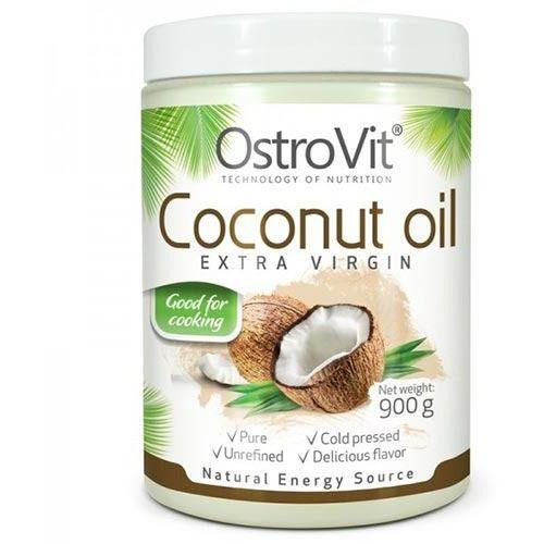 Ostrovit  coconut oil ( olej kokosowy ) nierafinowany - 900g (5902232612356)