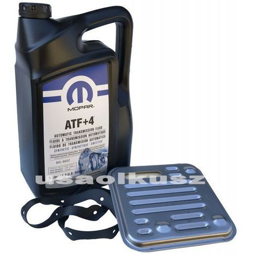 Mopar Olej atf+4 oraz filtr automatycznej skrzyni 4spd fiat freemont
