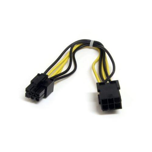 Startech.COM pciepo wext 20 cm 6-stykowe gniazdo PCI Express przedłużenie kabla, PCIEPOWEXT