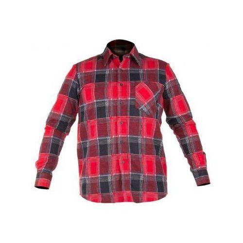 Koszula flanelowa w kratę czerwona  od producenta Lahtipro