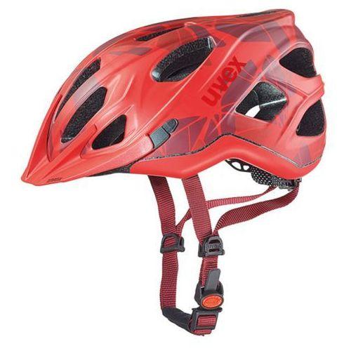 Uvex Kask rowerowy adige cc 2016 czerwony (4043197271460)
