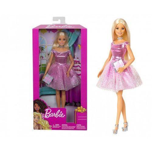 Mattel Lalka barbie urodzinowa z prezentem gdj36