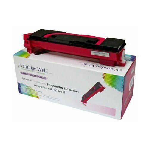 Cartridge web Toner magenta kyocera tk540/tk542 zamiennik tk-540m, 4000 stron