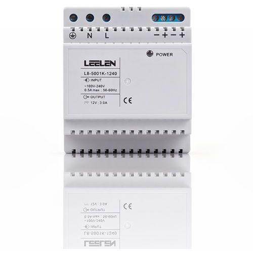 zasilacz 12vdc na szynę din (jb-5000) l8-1240 - autoryzowany partner leelen, automatyczne rabaty. marki Leelen