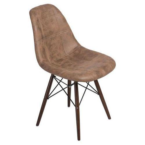 Dkwadrat Krzesło p016w pico brązowe dark