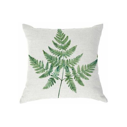 Poduszka w liście ELECHAL zielona 40 x 40 cm INSPIRE (8432979130136)