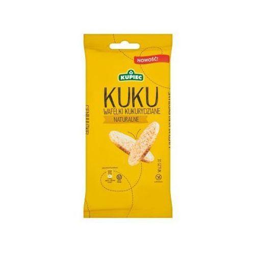 Wafle kukurydziane naturalne 36 g Kupiec