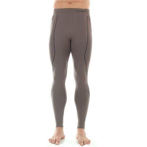 Spodnie Kalesony Męskie Brubeck Thermo LE10430 Orzechowe z kategorii Pozostała odzież sportowa