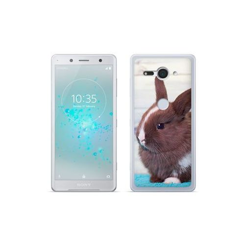 Etuo.pl Etuo foto case - sony xperia xz2 compact - etui na telefon foto case - brązowy królik