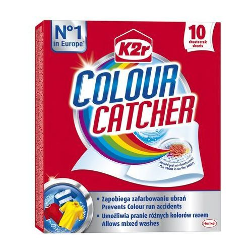 Henkel Chusteczki do prania k2r colour catcher (10 sztuk)