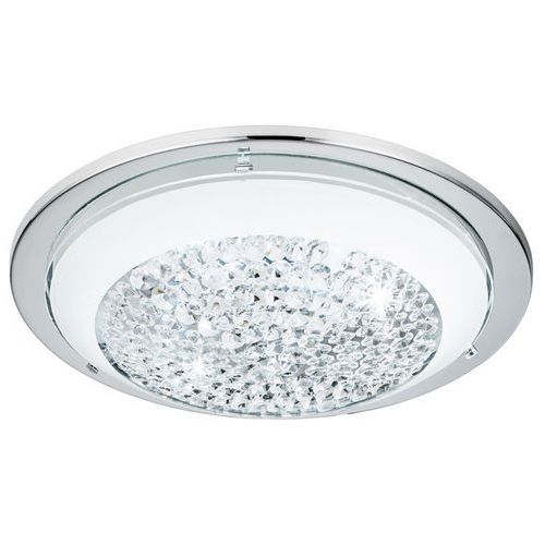 Plafon Eglo Acolla 95639 lampa sufitowa 1x8,2W LED chrom/biały, kolor Biały
