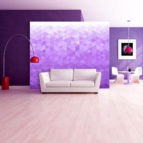 Artgeist Fototapeta - fioletowy piksel
