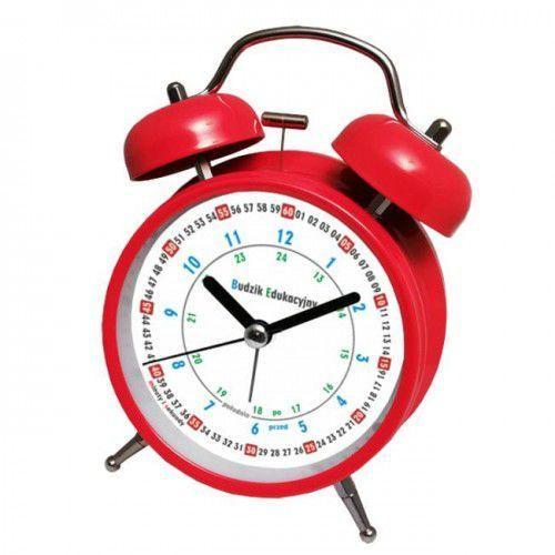 Atrix Super cichy budzik metalowy z dzwonkami #do nauki r
