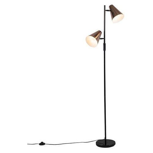 Lampa podlogowa pilon 2 miedz marki Qazqa